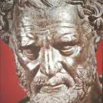 democritis, atomist, atomist philosophy, early medical philosophy, anti-vitalism