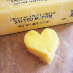 Organic sweet cream butter